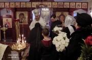 В Лазареву субботу глава Нарвской епархии совершил Литургию на Архиерейском подворье в Нарва-Йыэсуу_13