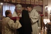 В Лазареву субботу глава Нарвской епархии совершил Литургию на Архиерейском подворье в Нарва-Йыэсуу_16