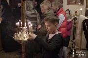 В Лазареву субботу глава Нарвской епархии совершил Литургию на Архиерейском подворье в Нарва-Йыэсуу_19