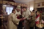В Лазареву субботу глава Нарвской епархии совершил Литургию на Архиерейском подворье в Нарва-Йыэсуу_21
