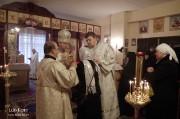 В Лазареву субботу глава Нарвской епархии совершил Литургию на Архиерейском подворье в Нарва-Йыэсуу_22