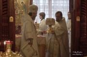 В Лазареву субботу глава Нарвской епархии совершил Литургию на Архиерейском подворье в Нарва-Йыэсуу_23