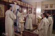 В Лазареву субботу глава Нарвской епархии совершил Литургию на Архиерейском подворье в Нарва-Йыэсуу_25