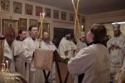В Лазареву субботу глава Нарвской епархии совершил Литургию на Архиерейском подворье в Нарва-Йыэсуу_27