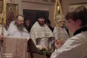 В Лазареву субботу глава Нарвской епархии совершил Литургию на Архиерейском подворье в Нарва-Йыэсуу_28
