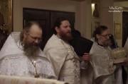 В Лазареву субботу глава Нарвской епархии совершил Литургию на Архиерейском подворье в Нарва-Йыэсуу_30