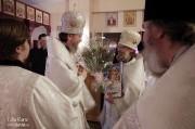 В Лазареву субботу глава Нарвской епархии совершил Литургию на Архиерейском подворье в Нарва-Йыэсуу_35