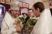 В Лазареву субботу глава Нарвской епархии совершил Литургию на Архиерейском подворье в Нарва-Йыэсуу_37